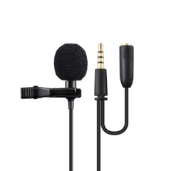 엑토 방송용 녹음용 스마트폰 PC 4극 핀마이크 MIC-18