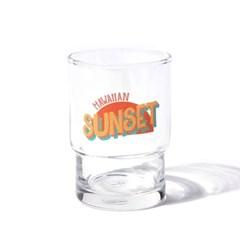 HAWAIIAN SUNSET GLASS CUP (245ml)