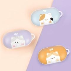 나인어클락 고양이 냥이 하드 갤럭시 버즈 버즈플러스 케이스
