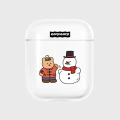 Covy and snowman-clear(Air pods)_(1705394)