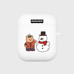 Covy and snowman-white(Air pods)_(1705391)