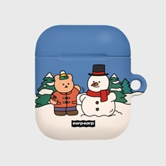 Covy and snowman(Hard air pods)_(1705387)