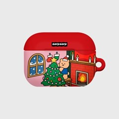 Happy covy x-mas-pink(Hard air pods pro)_(1705372)