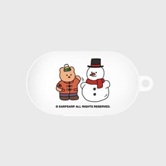 Covy and snowman-white(Buds jelly case)_(1705363)