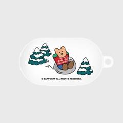 Snow sliding covy-white(Buds jelly case)_(1705362)