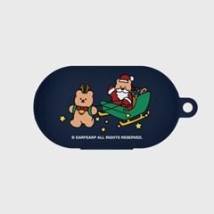 Christmas allnight-navy(Buds jelly case)_(1705360)