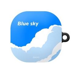 몬드몬드 Blue sky 갤럭시 버즈 라이브 케이스/하드 커버