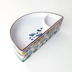 반달 나눔 접시 3colors