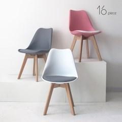 16피스 에펠 체어 카페 식탁 인테리어 의자 멜쿠션