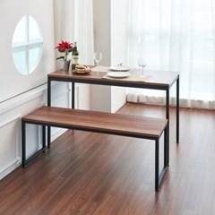 베누스 벤치의자 1200x400 국산 의자 식탁 가게 라운지 사무실