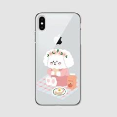 [아이폰] 피크닉 찰떡이 젤리케이스