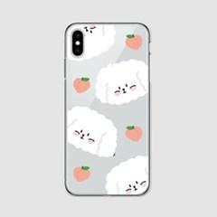 [아이폰] 피치 찰떡이 젤리케이스