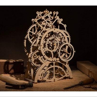 LK501 Pendulum Clock 시계 D.I.Y MECHANICAL GEAR