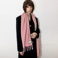 울100 핑크 머플러 _ Wool 100 Pink Muffler