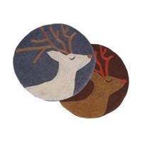 그루사슴 펠트 방석