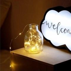 LED 앵두전구 무드등 와이어전구 소주병트리 와인병 스트링조명
