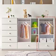 [에띠안]비비아나 베이비 유아 아기 키즈옷장 오픈형 600 4색상