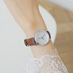 [쥴리어스정품] JA-1004 커플시계/손목시계/가죽밴드