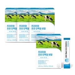 퍼펙토 프리미엄 초유단백질 분말 3+1박스 (3g x 120스틱)