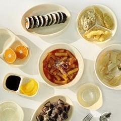 바닐라크림 멜라민 분식그릇 10종 택1