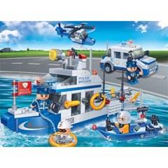 반바오 블럭 해양 순찰대 폴리스 시리즈