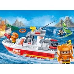 반바오 블럭 해양 구조대 파이어 시리즈