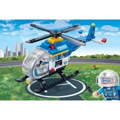 반바오 블럭 경찰 헬리콥터 폴리스 시리즈