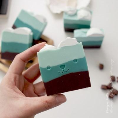 min cocoa soap 민트코코아 수제 천연비누 (지성용)