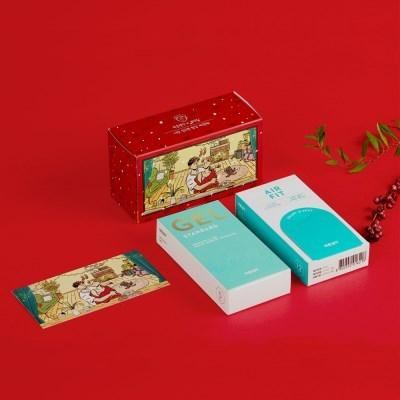 [바른생각X그림비] 겨울 - 콘돔&젤세트+특별증정품