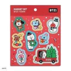 [BT21] 마그넷 세트-BT21 TOWN_(988390)