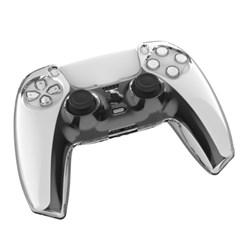 PS5 플스5 듀얼센스 패드 투명 크리스탈 커버 케이스
