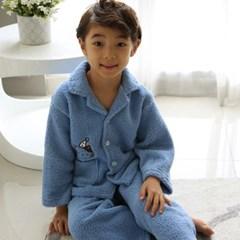 아동 겨울 수면잠옷 남아 양털 유아 파자마 실내복