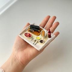 분식 세트 미니어처 음식 만들기 DIY 풀키트 미니셰프 컬렉션