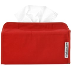basic red tissue cover