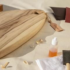 누키스트캄포 원목 도마 만들기 DIY  키트