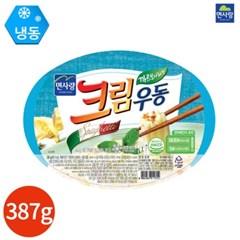 면사랑 크림우동 까르보나라맛 387g x 3개