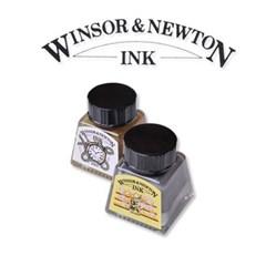 [윈져&뉴톤]드로잉 잉크 14ml (골드실버)