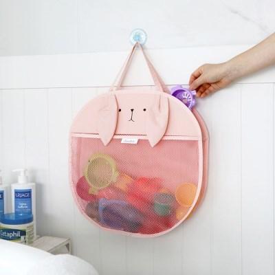 코니테일 캐리 욕실정리망 - 래빗 (그물망 장난감 가방 메쉬 백 아기