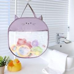 코니테일 캐리 욕실정리망 - 캣 (그물망 장난감 가방 메쉬 백 아기