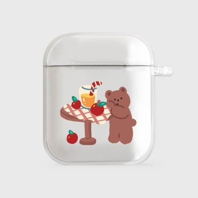 gummy apple juice [airpods clearcase]_(990095)