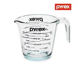 코렐 파이렉스 500ml 계량컵-블랙그래픽
