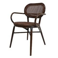 씨르 라탄 팔걸이 의자[SH003159]