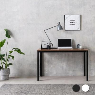 루디 컴퓨터 책상 1200 (블랙/화이트)