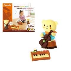 곰과 함께 연주하는 피아노(소리나는 음악교감 완구)