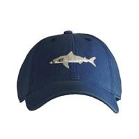 [Hardinglane]Adult`s Hats Great White shark on Navy