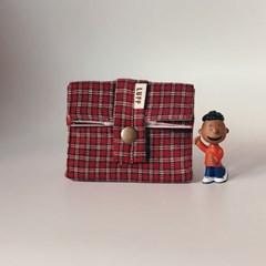 baby pocket - redcheck