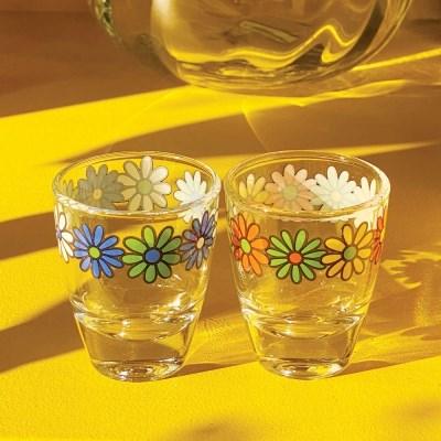Retro cosmos shotglass 소주잔세트