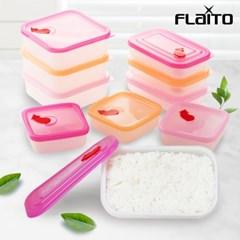 국산 플라이토 실리콘 전자렌지 냉동밥 보관용기 밥팩 3종