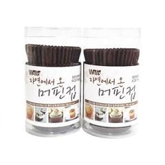 자연에서온머핀컵 초코, 2개(200매)_(701851428)