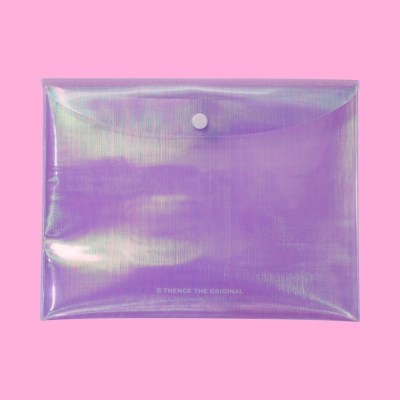 HOLOGRAM POUCH_PURPLE
